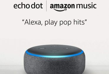 Amazon Echo Dot (3rd Gen) for $0.99 and 1 month of Amazon Music Unlimited for $9.99 with Auto-renewal