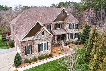 Custom luxury all brick and stone Toll Brothers home